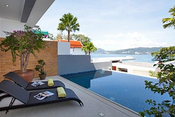 Atika villas villa 2 oceanfront serviced pool vill, holiday rental in Patong