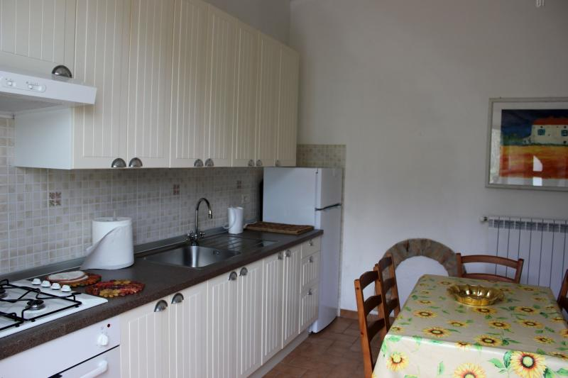 Kitchen/Living, the  dining table