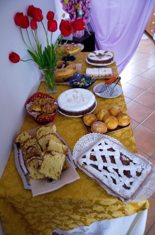 presentazione di alcuni dolci per colazione
