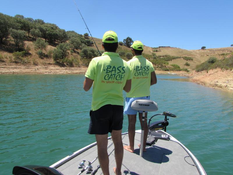 Pesca de lubina en Santa Clara / Pesca de carpa y lubina en la presa de Santa Clara