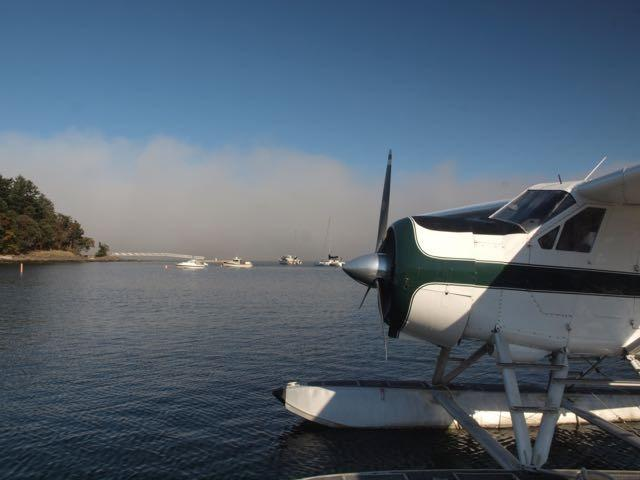 Arrive by float plane or ferry