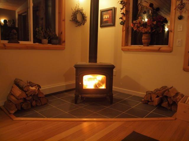 Warm your tootsies by the fire
