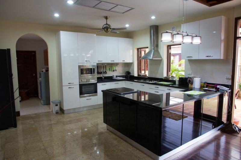 New modern kitchen with all amenities