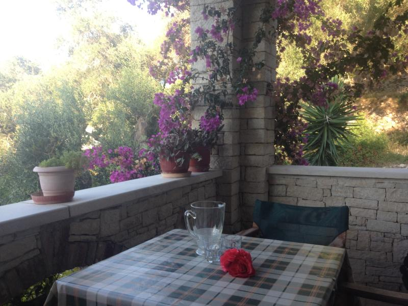 balcony -perfect for al fresco dining and peaceful evenings