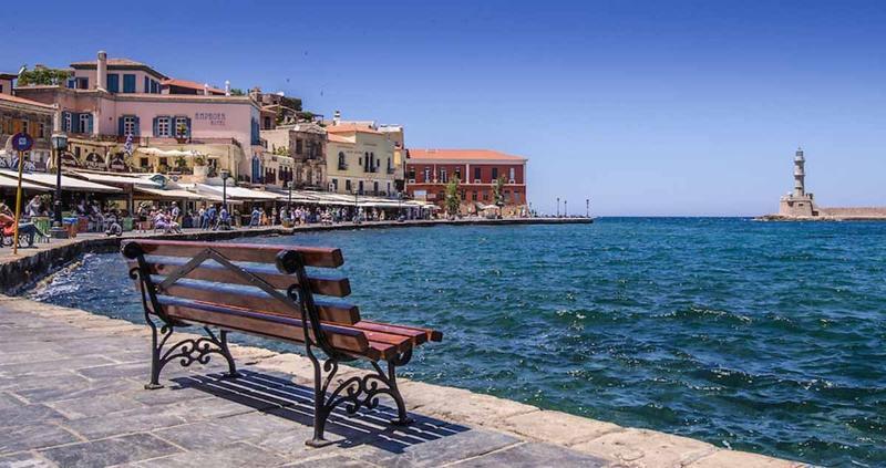 Villa Hannah - Nearby Town Of Chania - Venetian Harbour