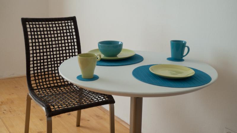 Designer kitchen utensils.