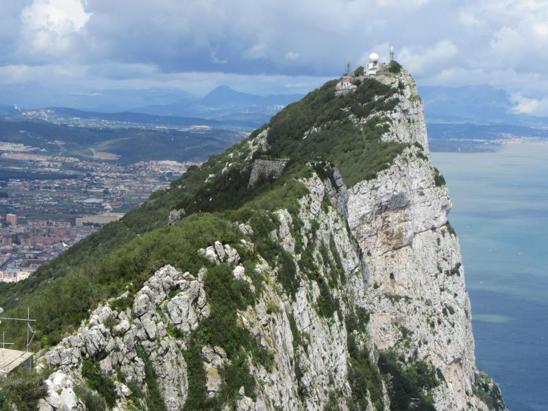 View from the top of Gibraltar. A 20 minute drive from apartment.