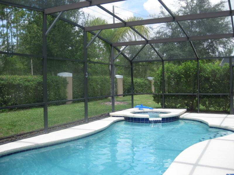 Pool/spa for your privacy and enjoyment.