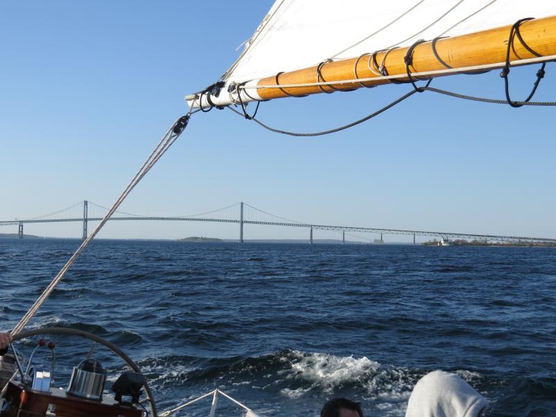 Narragansett Bay & Newport Bridge