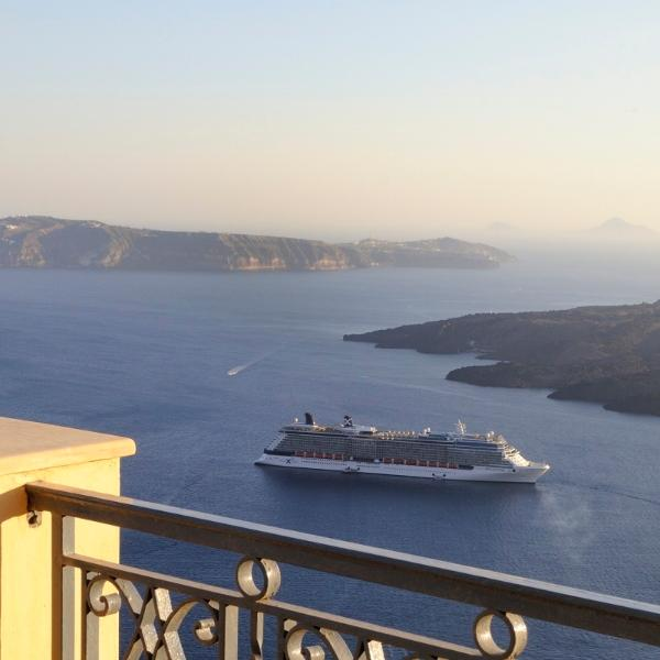 Watch the cruise ships come and go...
