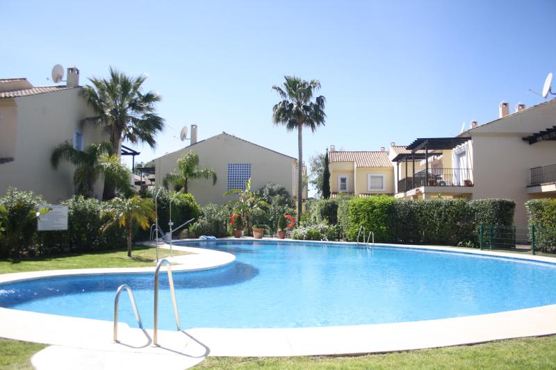 7 pools including 2 childrens pool in a tranquil setting!