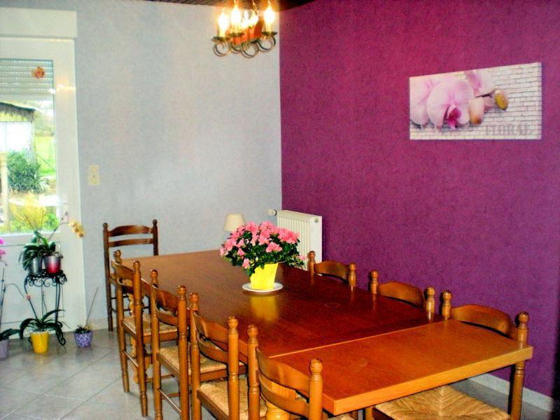 Dining room, breakfast