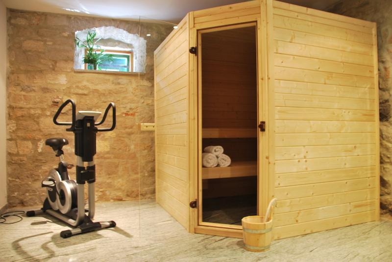 Sauna at Villa del Mar