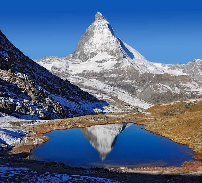 Matterhorn - Breuil Cervinia  ( 1h 15' drive )