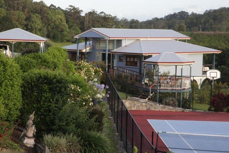 Self contained cottage with undercover carport and access to the tennis court and pool