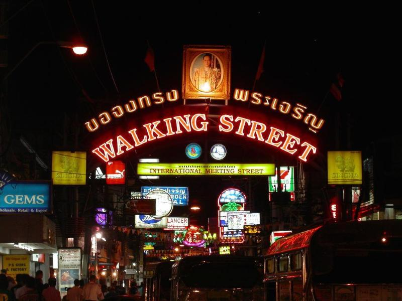 World famous walking street. All you need for an amazing night out in one area. A must visit.