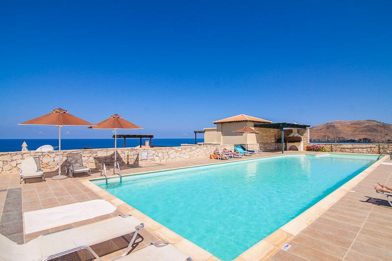 Enjoy the wonderful view from the pool area!