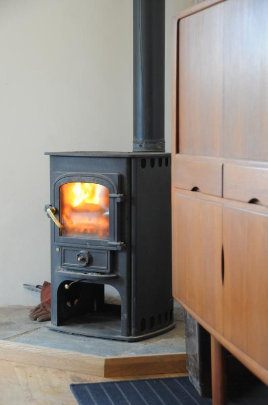 Wood burner (we supply logs)