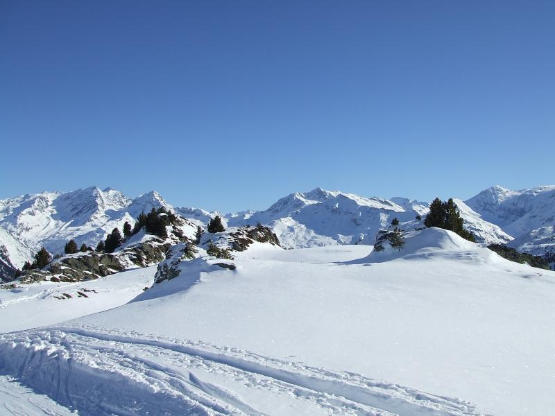 Some of the off piste area for those who dare