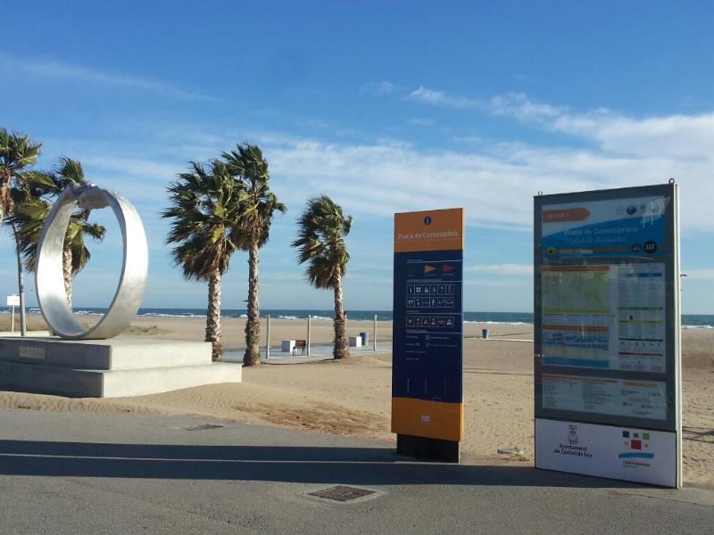 la información de playa