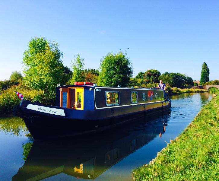 Luxury Canal Boat