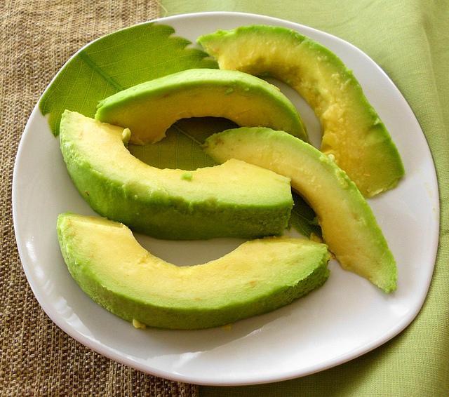 Avocado from the patio