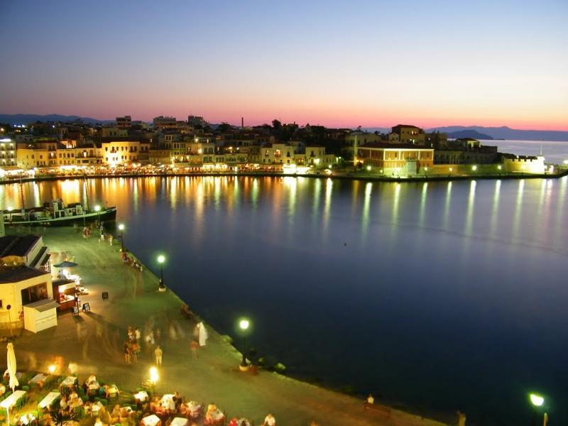 Chania old town! Incredible nightlife!