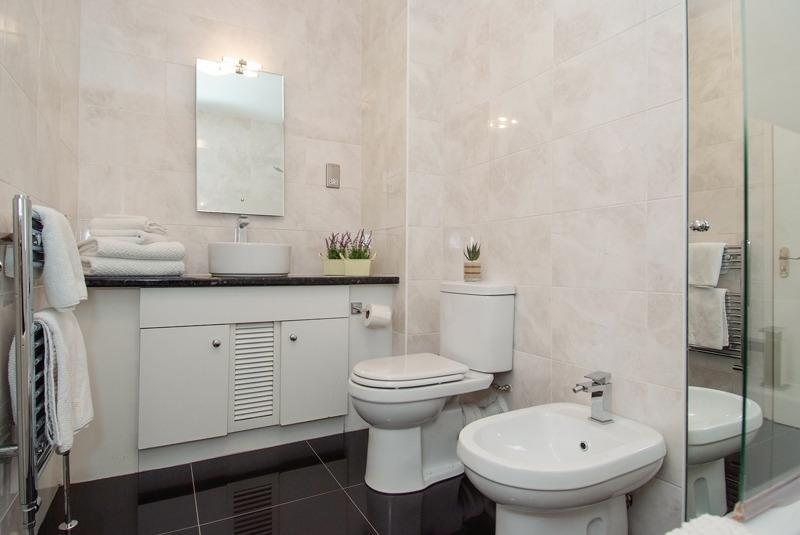 Typische Badezimmer