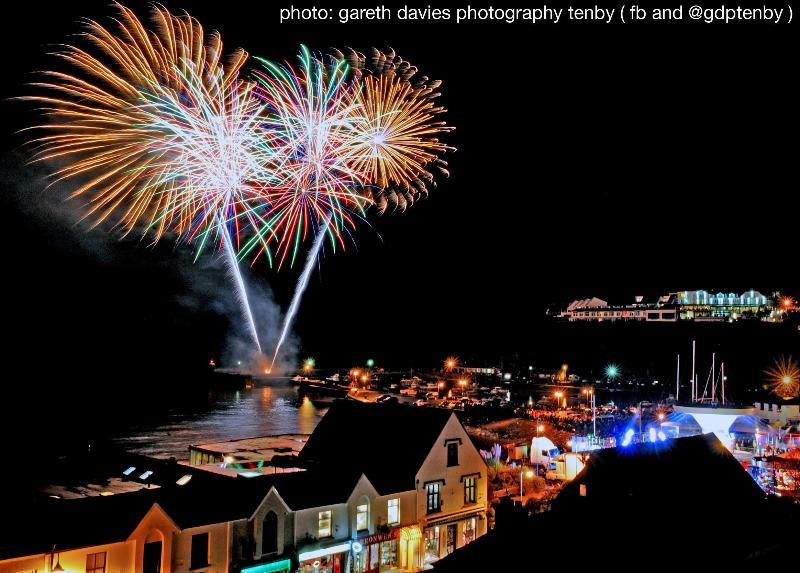 Big Bang Weekend in Saundersfoot (every year at the end of October)