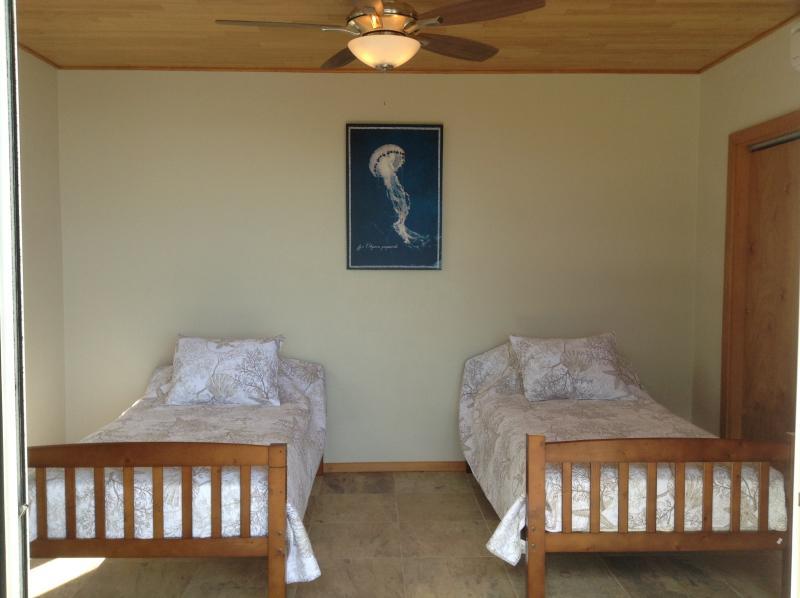 Seconda camera da letto può essere costituito come due gemelli o un re