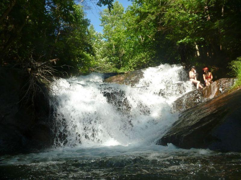 Fish Hatchery Waterfall