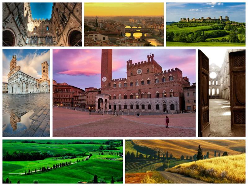 Locais próximos: Siena, San Gimignano, Chianti...
