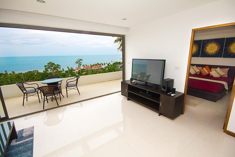 Executive 2 bedroom with sea view and bath jacuzzi, vacation rental in Lamai Beach