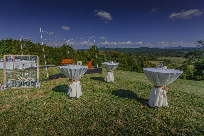 The vista for weddings