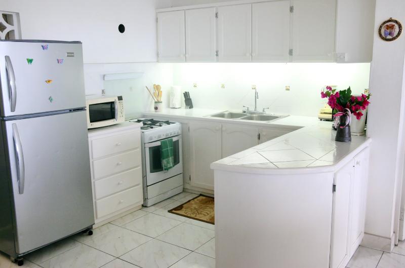 Cocina ligera, limpio, espacioso...