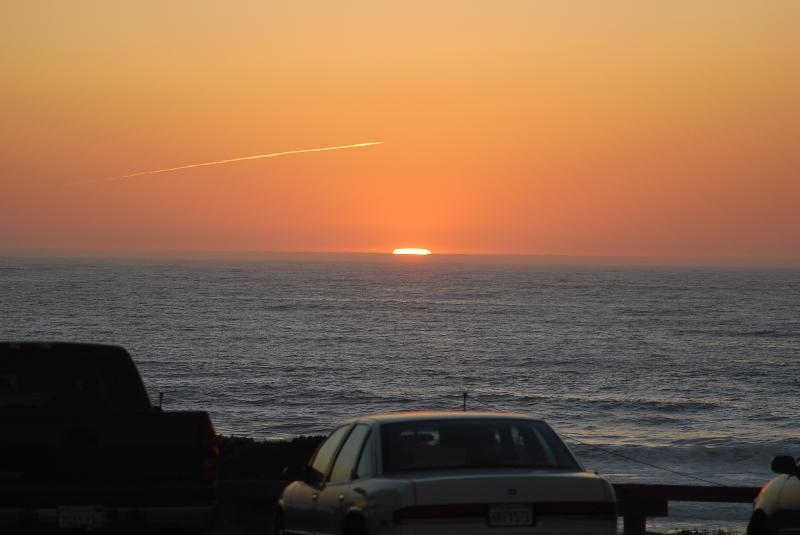 Gorgeous sunset taken from Carmel River Beach, 20 minutes drive from the house!