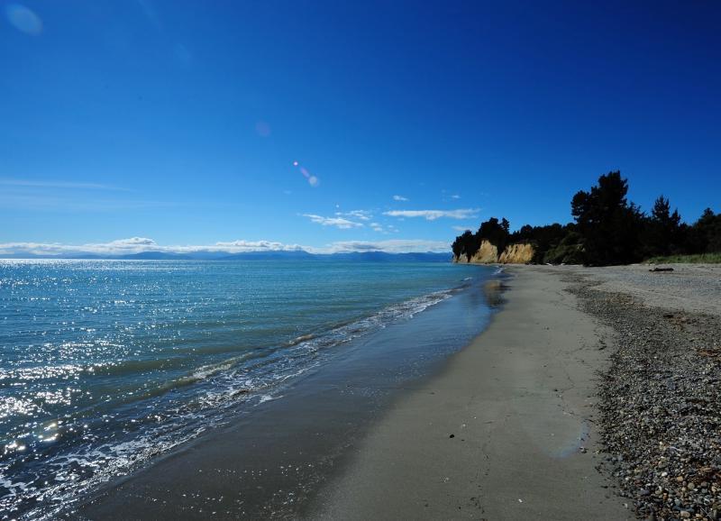 spiaggia per lunghe passeggiate