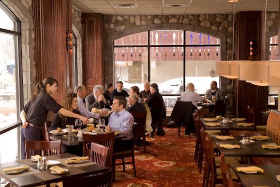 Restaurante no Brewery de John Harvard