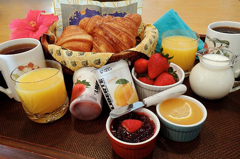 Breakfast Delivered To Your Room When You Wish!