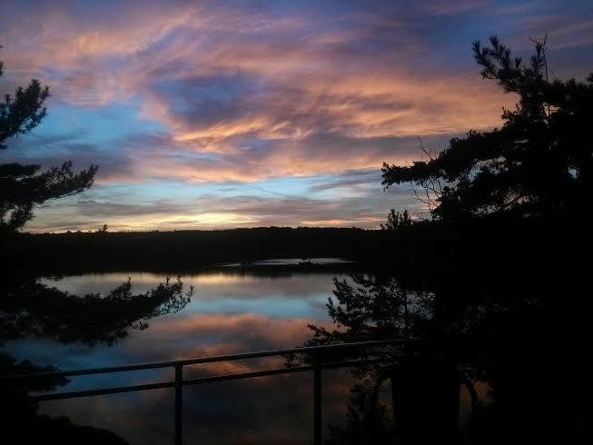 Loft Deck with Sunset views