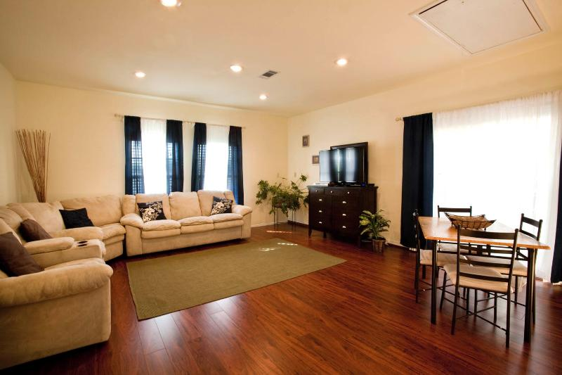 Family Room with 50' Flat Screen