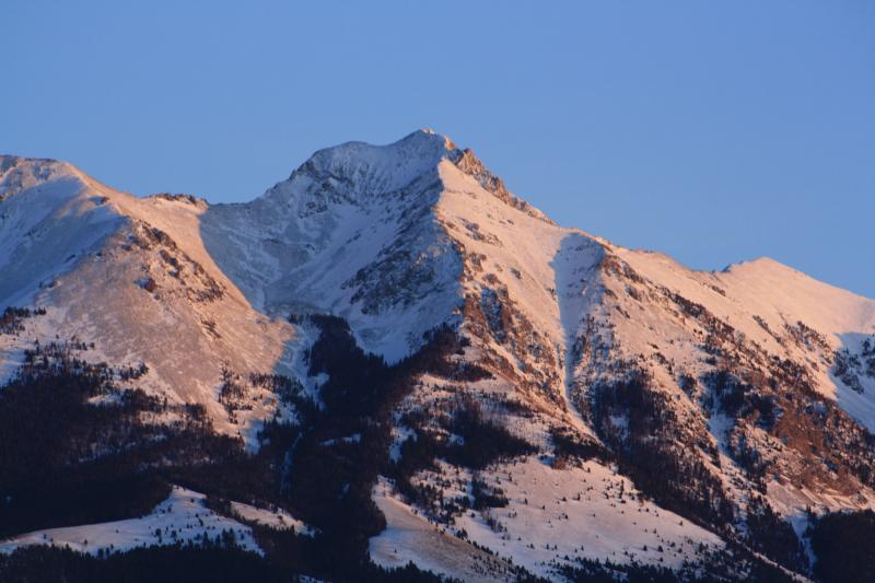 Emigrant Peak from the Cabin