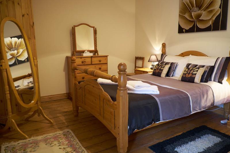 Erste Doppel-Schlafzimmer, Blick über das Ogwen-Tal