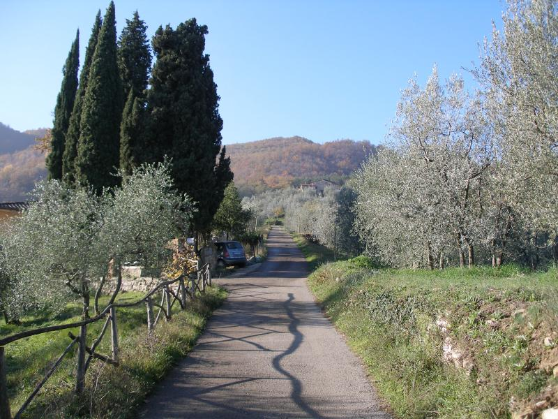 entrance to Podere La pruneta
