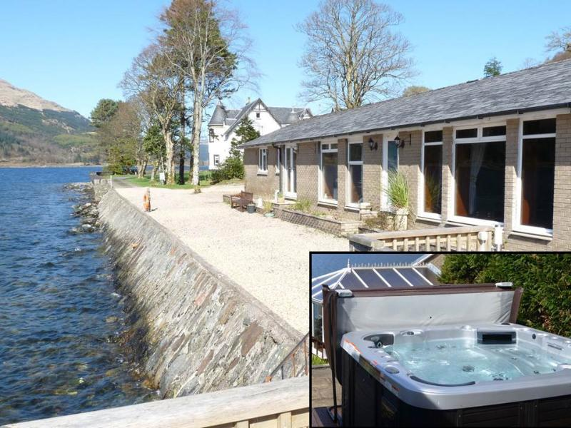 Ardmay Lettings, The Bungalow, Ardmay, Arrochar, Outdoor Hot Tub, aluguéis de temporada em Arrochar
