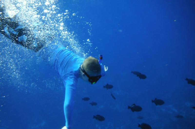 Take a boat ride to snorkeling of the coast of the Desecheo Island (12 miles)