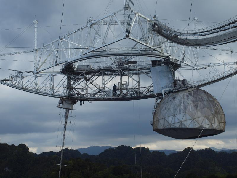 Visit the world's Largest Radio Telescope (feature in one of the James Bond Movies)