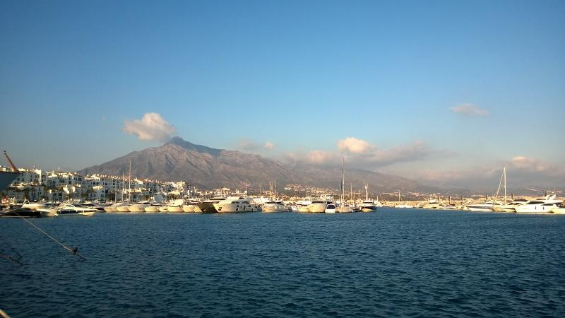 Puerto Banus 1st of January