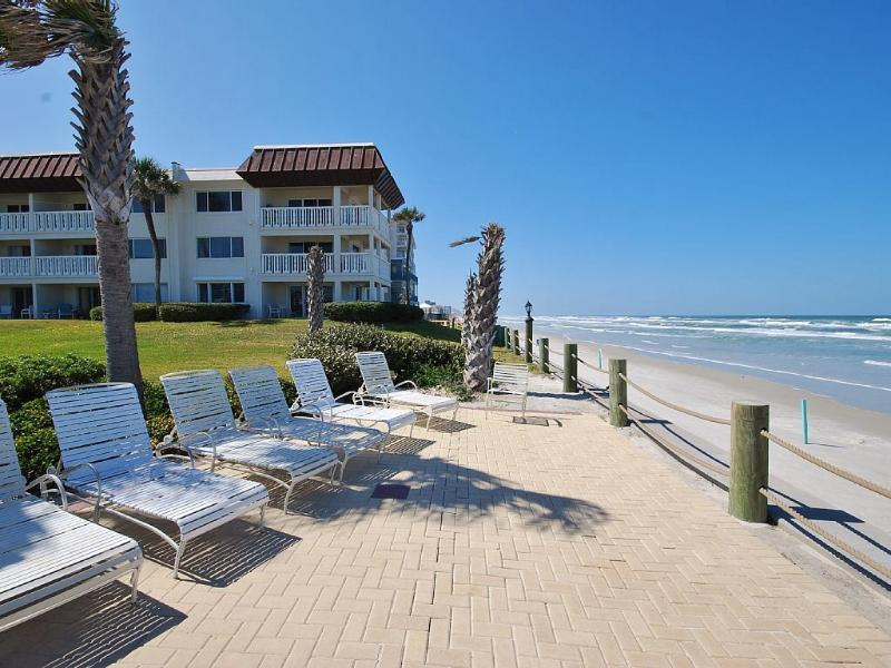 Relax and catch some rays out by the ocean.  Chairs provided!