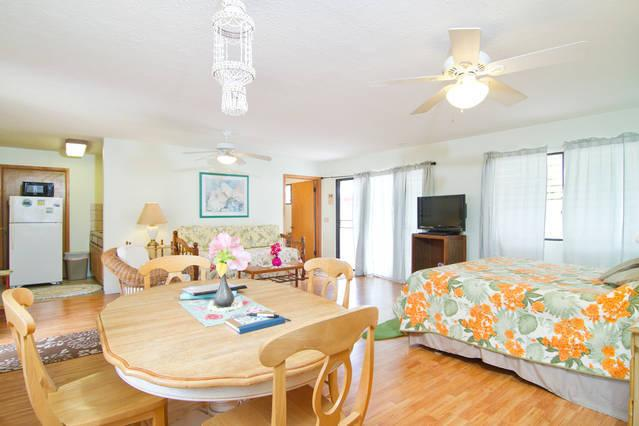 Large Spacious Studio - 5 Min Walk to Kailua Beach, holiday rental in Waimanalo